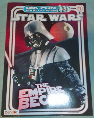 STAR WARS THE EMPIRE BEGINS -Big Fun Book to Color - NEW