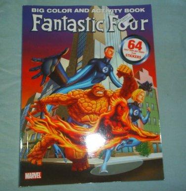 FANTASTIC FOUR - Big Color + Activity Book - new