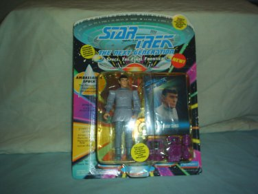 STAR TREK THE NEXT GENERATION - Ambassador Spock -  Action Figure - Playmates