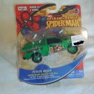SPIDER SENSE SPIDER MAN POWER RACER  MOTORIZED  DIE-CAST VEHICLE- Sandman Ford F150XL