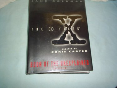 X-FILES BOOK OF THE UNEXPLAINED vol. one