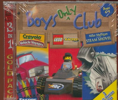 Boys Only Club - 3 Titles Full Version (Free Shipping)