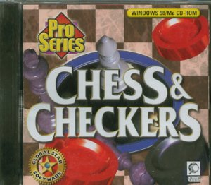 (Free Shipping) Pro Series Chess & Checkers PC Game New!