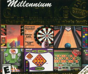 (Free Shipping) MILLENNIUM GamePak GOLD! PC-CD Over 50 Complete Games