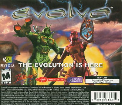 Evolva PC-Game Free Shipping