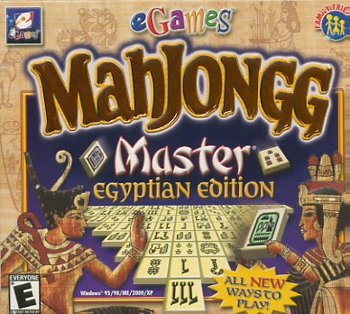 Mahjongg Master Egyptian Rahjongg PC Game (Free Shipping)