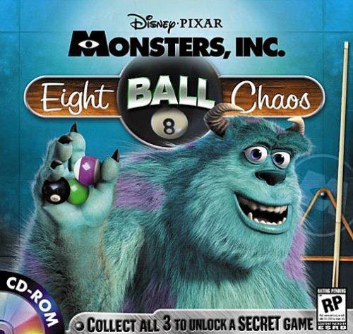 Disney/Pixar's Monsters, Inc. Wreck Room Arcade: Eight Ball Chaos PC/MAC Free Shipping