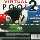 Virtual Pool 2 PC Game (New! Free Shipping)