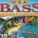 USA Bass Championship PC Game JC (New! Free Shipping)