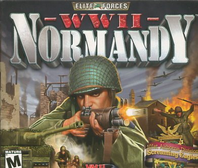 Elite Forces WWII Normandy PC Game New ( free Shipping)
