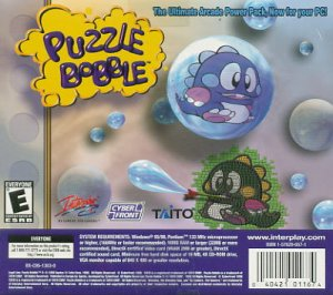 Puzzle Bobble / Puzzle Bobble 2 Bundle New (Free Shipping)
