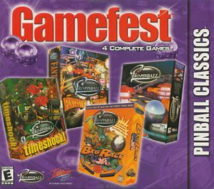 Gamefest Pinball Classics Pro Pinball Timeshock Big Race Fantastic Journey Free Shipping