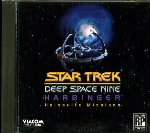 Star Trek Deep Space Nine Harbringer Holosuite Missions PC-CD (Free Shipping)