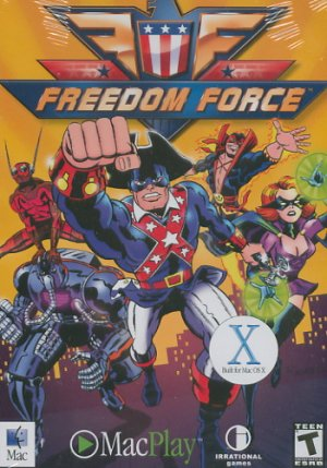 Freedom Force Mac game (Free Shipping)
