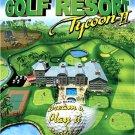 GOLF RESORT TYCOON II 2 -PC GAME - FREESHIPPING-