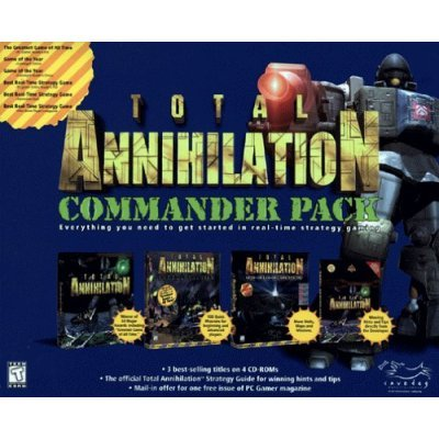 TOTAL ANNIHILATION COMMANDER PACK ORIGINAL+CORE CONTINGENCY+BATTLE TACTICS (FREE SHIPPING)