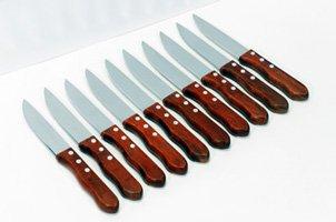 Chef's Secret 10pc Steak Knife Set