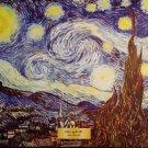 THE STARRY NIGHT Fine Art Print Repro by Artist VINCENT VAN GOGH