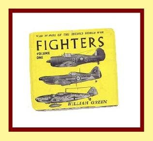 WWII FIGHTER PLANES WORLD WAR 2 - Vol 1 - Hardback Book Germany France Australia MORE - Illustrated
