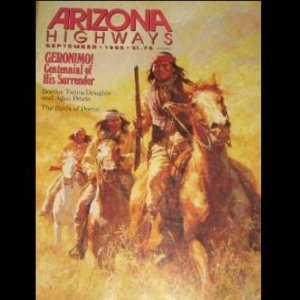 Arizona Highways Magazine - GERONIMO APACHE INDIANS OF SIERRA MADRE - BIRDS - Sep 1986 - Vol 62 No 9