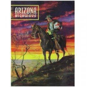 Arizona Highways Magazine - COWBOY & HORSE - Photos by Ansel Adams - Dec 1952 - Vol. XXVIII, No. 12