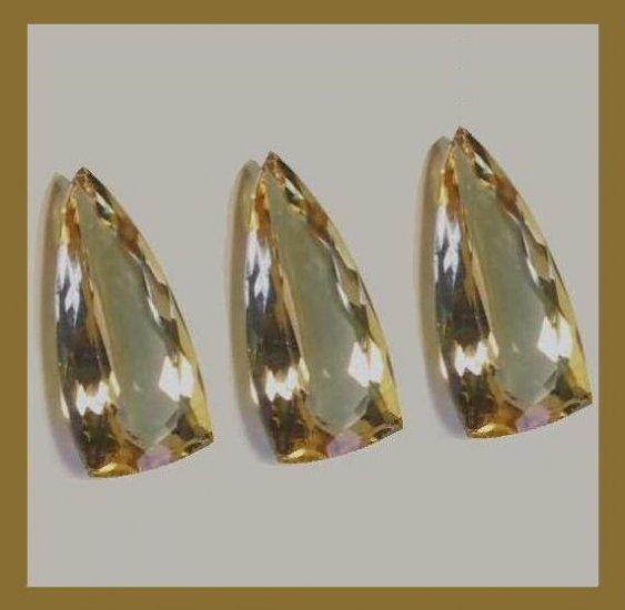 24.00ctw SMOKY QUARTZ Fancy Cut Faceted Loose Gemstones Parcel - 100% Natural Real Genuine