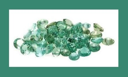 5.00ctw GREEN APATITE Round Faceted Accent Gemstones Parcel - 100% Real Natural Genuine Authentic!