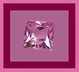 3.00ct AMETHYST Princess Cut 8x8mm Lavender Faceted Loose Gemstone - 100% Real Natural Genuine