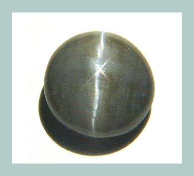 9.00ct Black CATS EYE Round Cab 15mm Catseye Cabochon Simulated Loose Gemstone