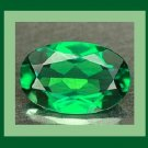 CHROME DIOPSIDE 0.32ct Oval 5.4x3.3mm Green Faceted Natural Loose Gemstone