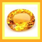 CITRINE 1.00ct Oval 7x5mm Faceted Natural Loose Gemstone