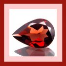 Rhodolite GARNET 0.75ct Pear 7x4mm Purple Red Faceted Loose Gemstone - 100% Real Natural Genuine