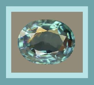Paraiba Blue TOURMALINE 0.25ct Oval Cut 4.3x3.6mm Faceted Gemstone 100% Real Natural Genuine!