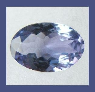 TANZANITE 0.45ct Oval Cut 6x4mm Loose Gemstone - 100% Natural Real Authentic Genuine!