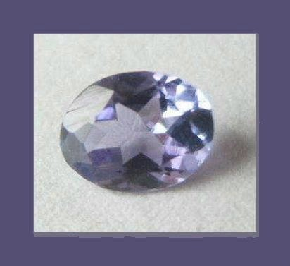 TANZANITE 0.63ct Oval Cut 6.13x4.84mm Loose Gemstone - 100% Natural Real Authentic Genuine!