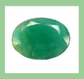 EMERALD 2.20ct Oval Cut 8.32x6.49mm Faceted Gemstone - 100% Natural, Genuine, and Authentic!