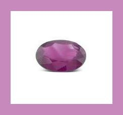 AMETHYST 0.33ct Oval 5.38x3.44mm Grape Purple Faceted Loose Gemstone - 100% Real Natural Genuine