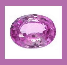 AMETHYST 0.95ct Oval 7.67x5.75mm Grape Purple Faceted Loose Gemstone - 100% Real Natural Genuine