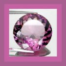 AMETHYST 1.02ct Round 7mm Violet Purple Faceted Loose Gemstone