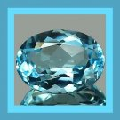 LONDON BLUE TOPAZ 1.19ct Oval 8x4mm Faceted Natural Loose Gemstone