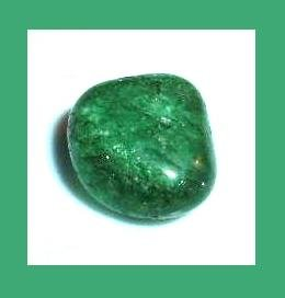 12.75cts Green CRACKLE QUARTZ Tumbled and Polished Natural Loose Gemstone
