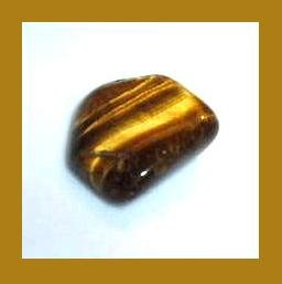 5.27cts GOLDEN TIGER'S EYE Tumbled and Polished Natural Loose Gemstone