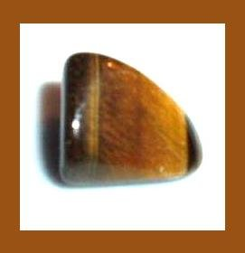 9.57cts GOLDEN TIGER'S EYE Tumbled and Polished Natural Loose Gemstone