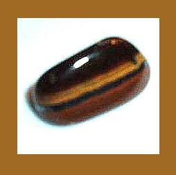 13.19cts GOLDEN TIGER'S EYE Tumbled and Polished Natural Loose Gemstone