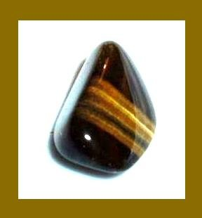 13.85cts GOLDEN TIGER'S EYE Tumbled and Polished Natural Loose Gemstone