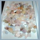 103.22ctw Lot of Mixed Mini QUARTZ CRYSTALS Tumbled and Polished Natural Loose Gemstones