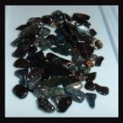 46.46ctw Lot of Mini OBSIDIAN Tumbled and Polished Natural Loose Stones
