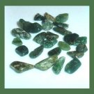 17.46ctw Lot of Mini GREEN Dyed Tumbled and Polished Stones