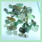 26.22ctw Mixed Lot Mini Green QUARTZ CRYSTALS Tumbled and Polished Loose Gemstones