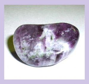 49.37ct AMETHYST Tumbled and Polished Natural Loose Gemstone